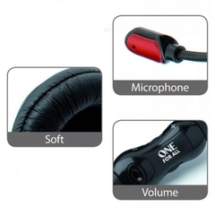 Auricular Headset Para Juegos Microfono One For All Sv5341