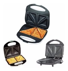 Sandwichera Electrica Tostadora Antiadherente Winco W-017 - Shoppingame
