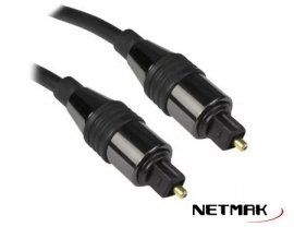 Cable Audio Optico DIgital 2m Netmak NM-C101