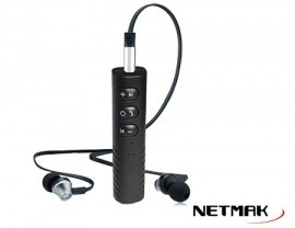 CAR BLUETOOTH Netmak receptor entrada AUX NM-BT6