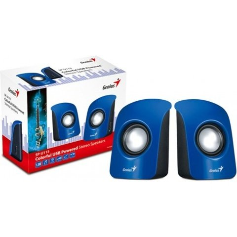 Parlantes Genius USB SP-U115