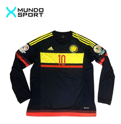 Camiseta suplente manga larga de Colombia #10 James