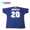 Camiseta alternativa Brasil 1994 #20 Ronaldo en internet