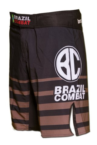 Grappling Short Shield IBJJF Preto e Marrom na internet