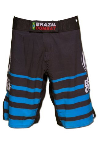 Grappling Short Shield IBJJF Preto e Azul na internet