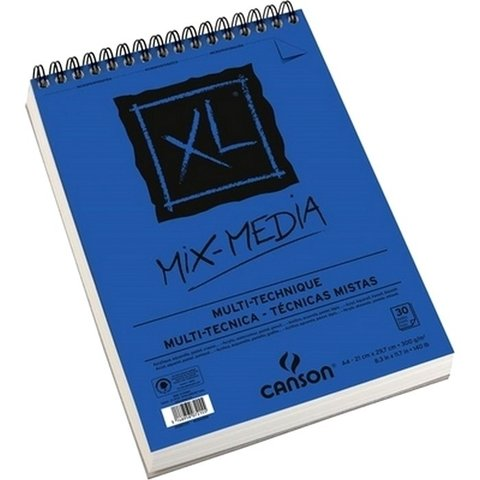Caderno Mix-Media Canson A4