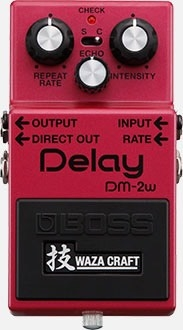 Pedal Boss Delay Dm-2w Waza Craft Japon