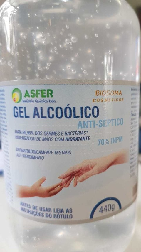 Álcool Gel 70 Anti-Séptico