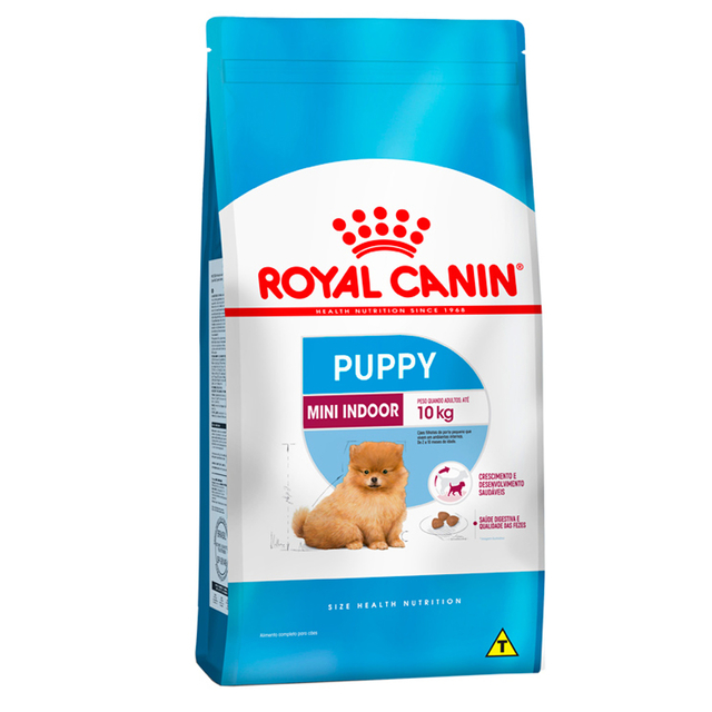 Ração Royal Canin Mini Indoor Júnior