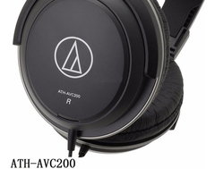 Audio Technica Ath-avc200 Auricular Profesional Monitoreo - comprar online