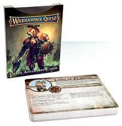 Warhammer Quest Chaos Adversary Cards