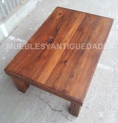 Mesa ratona en pinotea antigua reciclada (MR105A)