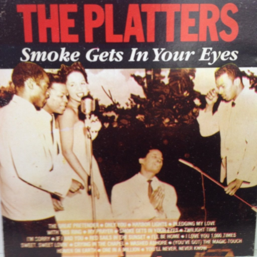 CD The Platters - Smoke Gets in Your Eyes
