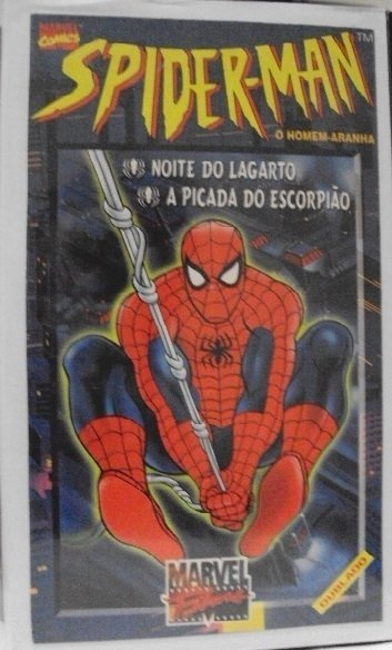 Marvel VHS Spider-man : A picada do escorpião/Noite do Lagarto