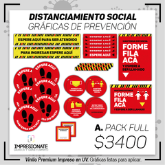 Kit Señaletica Reglamentaria FULL