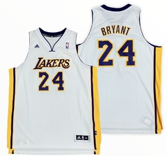 "Adidas NBA Los Angeles Lakers ""BRYANT"" 24 Swingman Jersey (XXL) Vintage"
