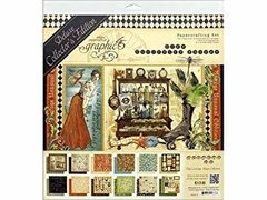 Graphic 45 Deluxe Edition Pack Old Curiosity Shoppe / Colección Deluxe Old Curiosity Shoppe