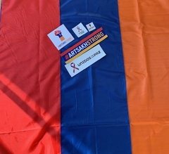 Bandera de Armenia + kit de calcomanias