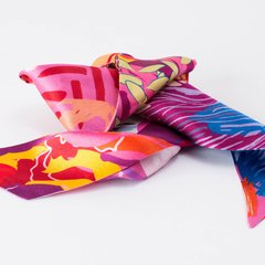 HORTENSIAS - VALISSE · 100% SILK SCARVES · A PIECE OF ART ·
