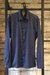 Long Sleeve Shirt Blue Texture
