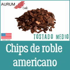 Chips de Roble Americano