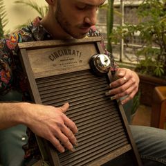 Big Dixie Rusted - Cincinnati Washboards