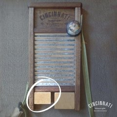 Jamblock chico de Madera - Cincinnati Washboards