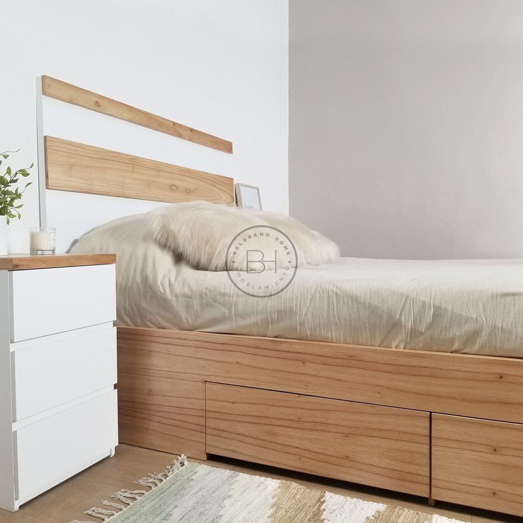 CAMA NORDICA ALL WOOD