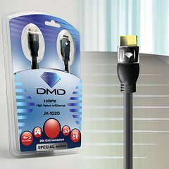 Cabo HDMI High Speed 1.4 Diamond Cable Special Series JX-1020 - 1.8m