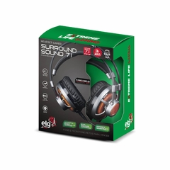 HEADSET GAMER 7.1 SURROUND CHANNEL C/ MICROFONE - L -  HGSS71 - CW Eletro