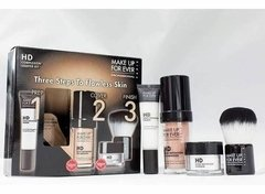 Make Up For Ever Kit Hd Primer + Base N125 + Pó + Pincel