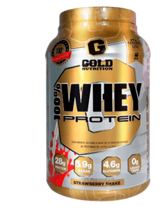 100% WHEY PROTEIN 2 lb - GOLD NUTRITION
