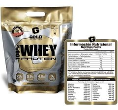 100 % WHEY PROTEIN  5 Lb  - GOLD NUTRITION en internet