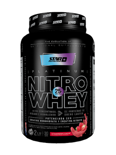 NITRO WHEY X 1 KGRS -  STAR NUTRITION