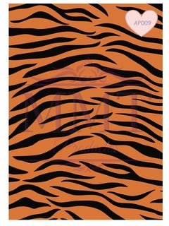 Animal Print Tigre Naranja