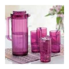 VASOS PREMIER MORADOS TUPPERWARE 410 ml