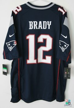 Camisa NFL New England Patriots Tom Brady Nike Game Jersey Draft Store
