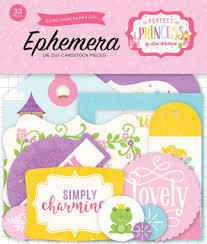 Die cuts Perfect Princess - Echo Park