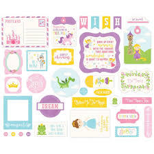 Die cuts Perfect Princess - Echo Park - comprar online