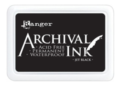Carimbeira Archival Ink - Jet Black