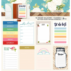 Adesivo para Planner Webster Pages - Changing colors