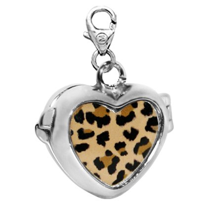 Dije Monona Corazon Animal Print #DJS0119