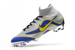 Chuteira Nike Mercurial Superfly 360 Elite R9 Campo Original Silver World Cup 1998 na internet