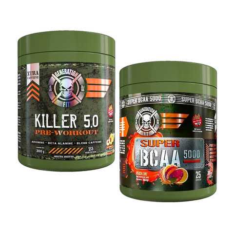 Combo BCAA + Killer 5.0 Pre Workout - Generation Fit