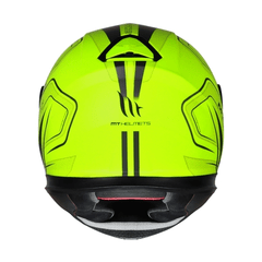 CAPACETE MT THUNDER 3 TRACE MATT YELLOW na internet