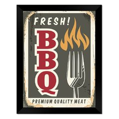 Quadro Decorativo Fresh BBQ na internet
