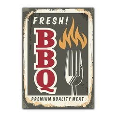 Quadro Decorativo Fresh BBQ