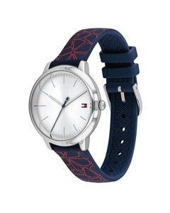 Reloj Tommy Hilfiger Mujer 1782252 Azul Silicona Sumergible - comprar online