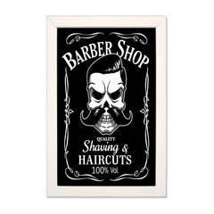 PLACA BARBER HAIRCUTS na internet