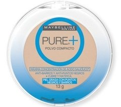 Polvo Compacto Maybelline Pure Make Up Plus